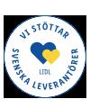 Vi stöttar svenska leverantörer