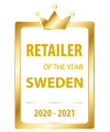 Retailer of the year Sweden 2020-2021