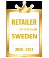 Retailer of the year Sweden 2020-2021