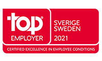 Top Employer Sweden 2021