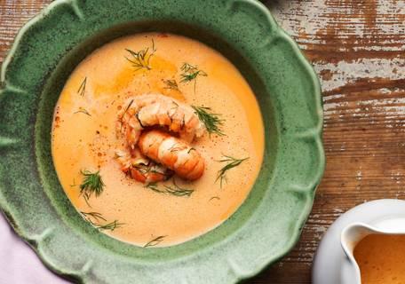 Fisk & skaldjur soppa