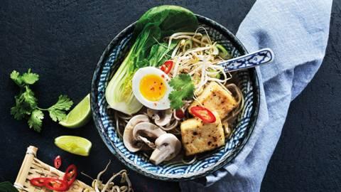 Ramen med tofu