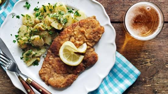 Wienerschnitzel med potatissallad