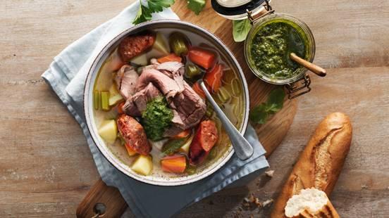 Bollito misto & salsa verde