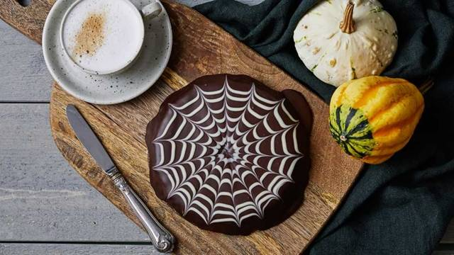 Halloween-kladdkaka