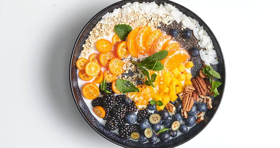 Fruktig frukostbowl