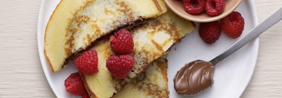 Pannkakor med nutella