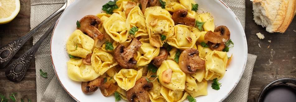 Vintrig pasta med tryffel och svamp