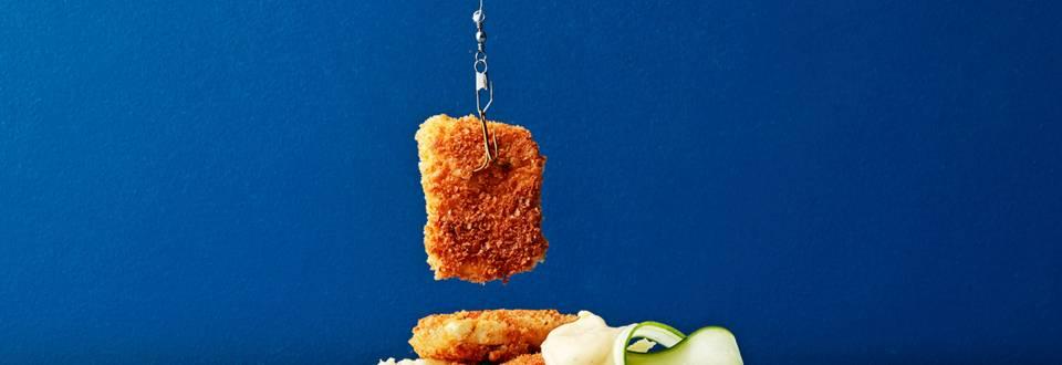 Veganska fiskpinnar