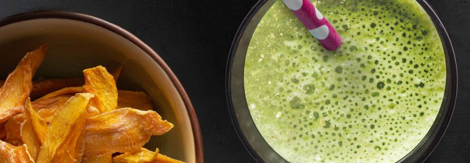 Söt grön smoothie