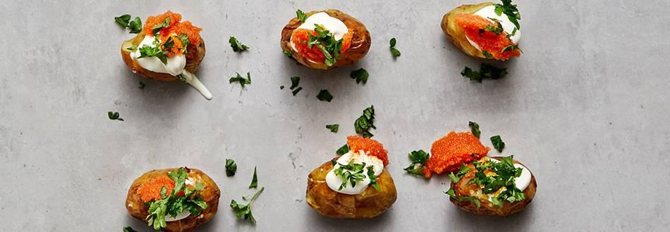 Ugnsrostad potatis med rom
